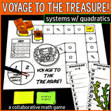 Voyage to the Treasure! Systems of Linear and Quadratic Equations Game