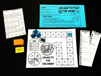 Voyage to the Treasure! Writing Linear Equations Game