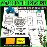 Voyage to the Treasure! Writing Linear Equations