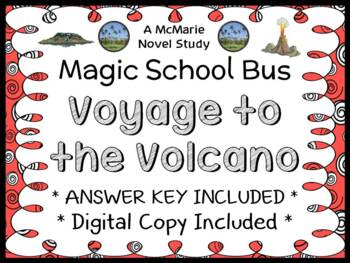 Voyage to the Volcano (Magic School Bus) Novel Study / Comprehension  (26 pages)