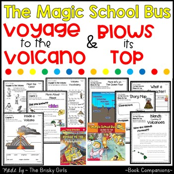 Voyage to the Volcano and The Magic School Bus Blows Its Top BUNDLE