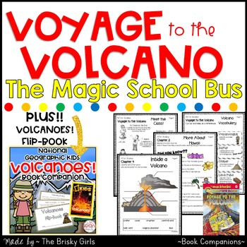 Voyage to the Volcano and Volcanoes! Book Companions BUNDLE