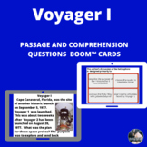 Voyager I Boom™ Cards™ passage and questions -digital