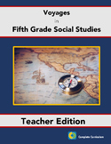 Voyages in Fifth Grade Social Studies - Teacher's Edition