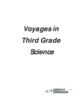 Voyages in Third Grade Science - Student Edition