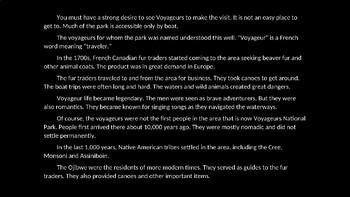 Voyageurs National Park PowerPoint