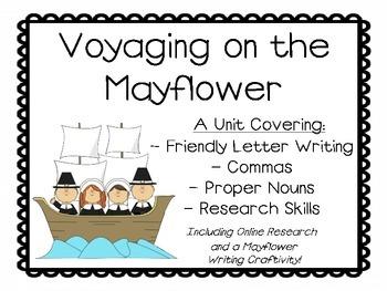Mayflower Letter - Thanksgiving Writing
