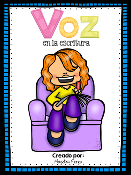Voz en la escritura/ Voice in Writing (Spanish)