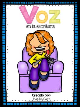 Voz en la escritura/ Voice in Writing (Spanish)