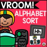 Vroom! Alphabet Sort
