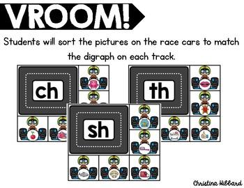 Vroom! Digraphs