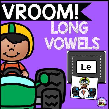 Vroom! Long Vowels Sort