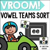 Vroom! Vowel Teams Sort