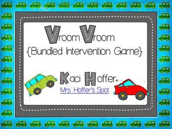 Vroom Vroom {Bundled Intervention Game}