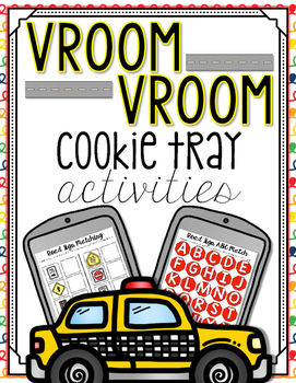 Vroom Vroom Cookie Tray Activities