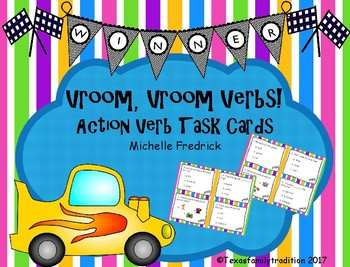 Vroom, Vroom Action Verbs