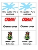 Vroom, Vroom Word Phrase Racers Card Game Set 1