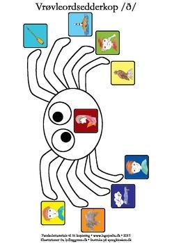 Vrøvleordsedderkopper /ð/