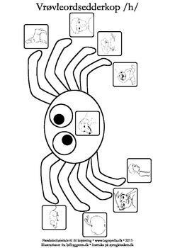Vrøvleordsedderkopper /h/