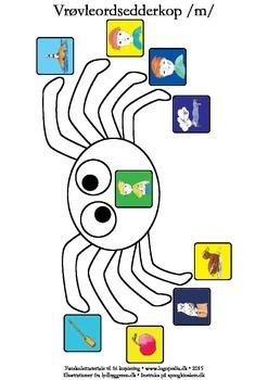 Vrøvleordsedderkopper /m/