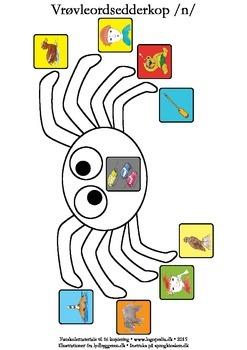 Vrøvleordsedderkopper /n/