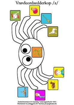 Vrøvleordsedderkopper /s/