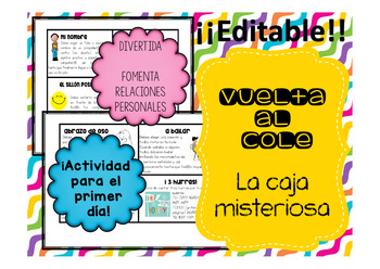 Vuelta al cole_Back to school_La caja misteriosa_
