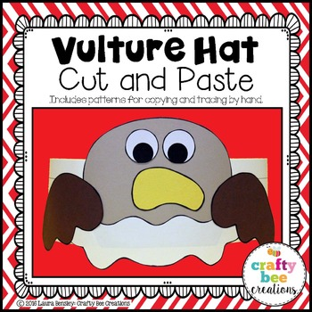 Vulture Hat Cut and Paste