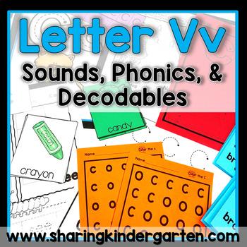 Letter Vv {Print & Play Pack}