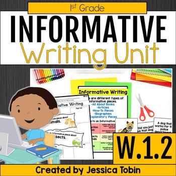 W.1.2- Informative Writing and Explanatory Writing 1st Grade