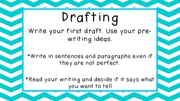 Writing Process Clipchart Posters FREEBIE