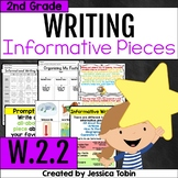 W.2.2 Informative Writing 2nd Grade- with Digital Learning Links - W2.2