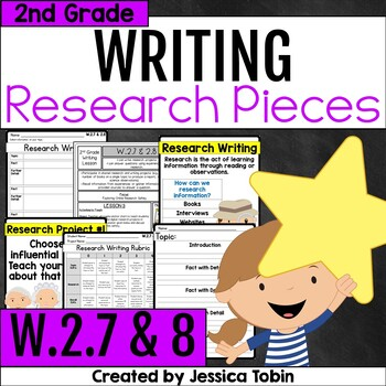 W.2.7 and W.2.8- Research Writing 2nd Grade