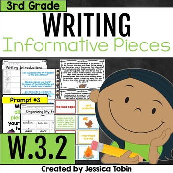 W.3.2- Informative Writing and Explanatory Writing 3rd Grade