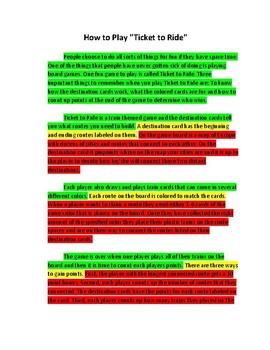 W.3.2, W.4.2, W.5.2 Informative Writing Materials