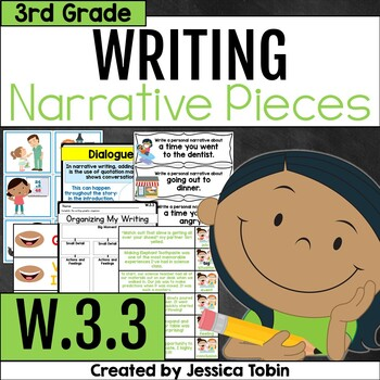W.3.3- Narrative Writing 3rd Grade