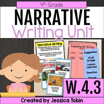 W 4 3 Narrative Writing 4th Grade