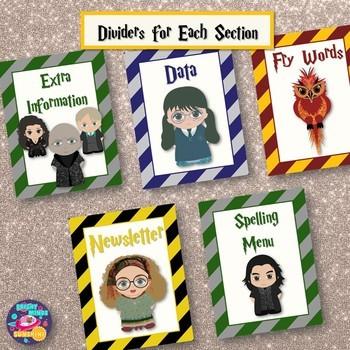 Harry Potter W.A.N.D. Homework Folder