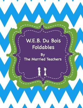 W.E.B. Du Bois Interactive Historical Figure Foldables