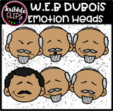 W.E.B DuBois Emotion Heads (Scribble Clips)