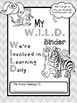 W.I.L.D. Folder Binder Cover