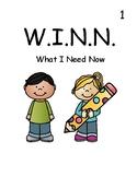 W.I.N.N. Folder Covers (What I Need Now)