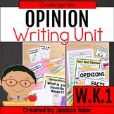 W.K.1- Opinion Writing Kindergarten