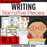 W.K.3- Narrative Writing Kindergarten with Digital Learning Links - WK.3
