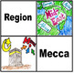 Middle East Region Word Wall with Game & Activity Ideas (S