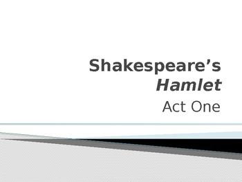W. SHAKESPEARE / HAMLET / ACT ONE PP