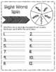 W Sight Word Practice Activities
