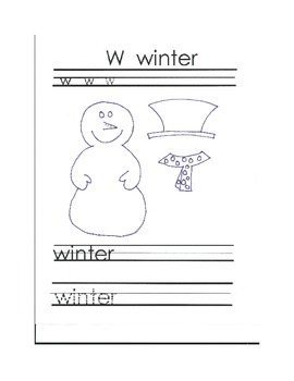 W Winter Writing & Craft