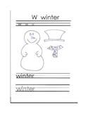 W Winter Writing & Craft