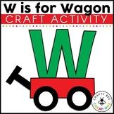 Letter W Craft {Wagon}